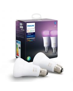 Philips HUE White and Color Żarówka LED A60 E27 9W 2-PAK Bluetooth Zigbee 8718699673284