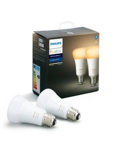 2PAK Żarówka LED E27 A60 9W PHILIPS HUE White Ambiance  Bluetooth Zigbee 8718699673369