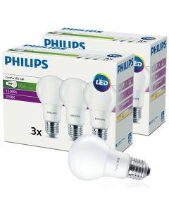 Zestaw 2x Żarówka LED E27 8W = 60W 806lm 2700K Ciepła CorePro PHILIPS 3PAK