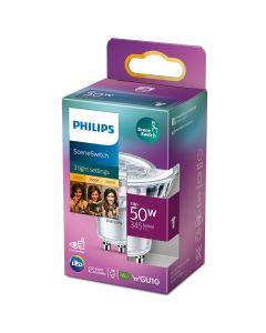 Żarówka LED GU10 5W = 50W 345lm 2200K - 2700K Ciepła Philips SceneSwitch Ściemnialna