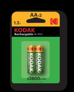 Baterie akumulatorki Kodak R6/2 2600mAh