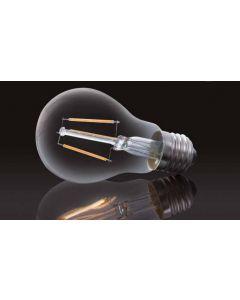 Żarówka LED E27 8W Filament 800lm Ciepła kulka Edison SUPERLED