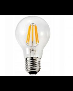 Żarówka LED 6W Filament 600lm E27 ciepła Edison ozdobna SUPERLED