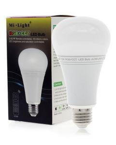 Żarówka LED E27 12W 1100lm RGB+CCT Wi-Fi Mi-Light - FUT105