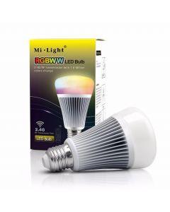 Żarówka LED E27 8W 550lm RGB+CCT Wi-Fi Mi-Light - FUT015