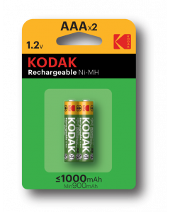 Baterie akumulatorki Kodak R3/2 1000mAh