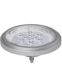Żarówka LED G53 AR111 11W 900lm 2700K Ciepła 40° KANLUX Srebna