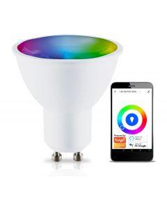 Żarówka LED GU10 5W  KOBI SMART WIFI RGB WW TUYA Inteligentna Ściemnialna