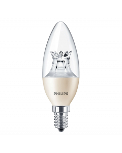 Żarówka LED E14 B38 6W = 40W 470lm 2700K Ciepła 250° PHILIPS Master Ściemnialna
