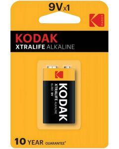 Baterie Alkaliczne KODAK 6LR61 MX1604 E-BLOCK 9V Blister 1szt