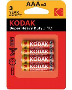 Baterie KODAK AAA LR03 MN2400 Blister 4szt