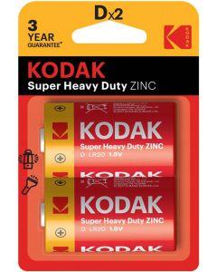 Baterie KODAK D LR20 MN1300 Blister 2szt
