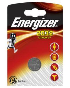BATERIE Pastylkowe GUZIKOWE ENERGIZER CR-2032 DL-2032 3V Blister 1szt