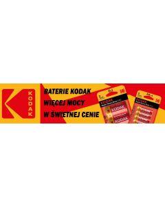 Baterie Alkaliczne KODAK AA LR6 MN1500 1.5V Blister 4szt