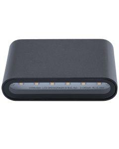 Kinkiet Zewnętrzny Oprawa Elewacyjna LED FLOW 1x3W 4000K 270lm IP54