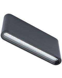 Kinkiet Zewnętrzny Oprawa Elewacyjna LED FLOW 2x6W 4000K 1080lm IP54