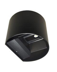 Kinkiet Lampa Oprawa Elewacyjna LED KREON Okrągła Góra i dół 2x3W 4000K 196lm IP54 BOWI