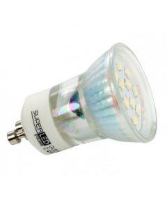 Żarówka LED GU10 HALOGEN 2,4W = 20W 6500K SUPERLED