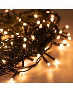 Lampki Choinkowe 300LED Światełka na Choinkę BIAŁE CIEPŁE 19,5m IP44