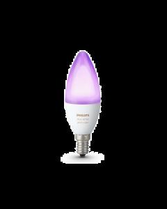 Żarówka LED E14 B35 6,5W RGB PHILIPS HUE White and Color Ambience Zigbee