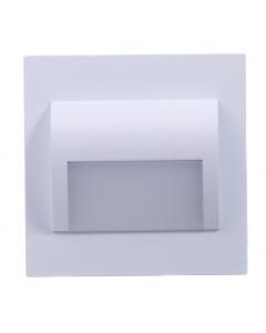Oprawa schodowa DECORUS 9 LED 1,2W Biała ProVero Ciepła