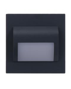 Oprawa schodowa DECORUS 9 LED 1,2W Grafit ProVero Zimna