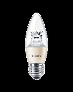 Żarówka LED E27 B38 6W = 40W 470lm 2700K Ciepła 140° PHILIPS  Master Ściemnialna