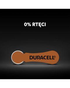 BATERIE do aparatu słuchowego Duracell DA-312 PR41 Blister 6szt