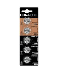 Baterie litowe pastylkowe specjalistyczne DURACELL DL2016 CR2016 3V Blister 5 sztuk
