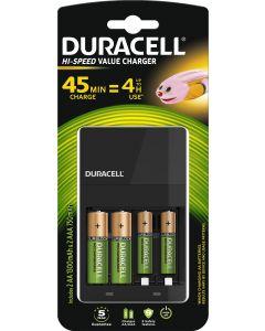 Ładowarka DURACELL CEF14 + 2x AA + 2x AAA DUR037199 z Akumulatorami