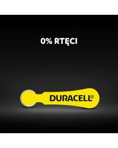 BATERIE do aparatu słuchowego Duracell DA-10 PR70 Blister 6szt