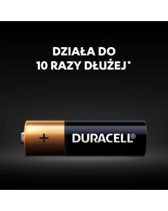 Baterie Alkaliczne Duracell Basic AA LR6 Blister 4szt