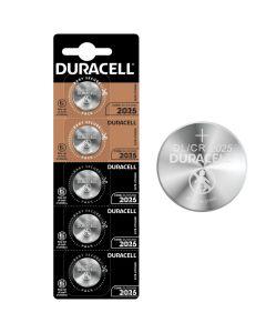 Baterie litowe pastylkowe specjalistyczne DURACELL DL2025 CR2025 3V Blister 5 sztuk