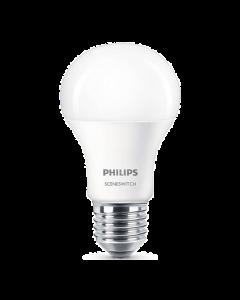 Żarówka LED E27 A60 9.5W = 60W  2700K & 4000K 200° PHILIPS Sceneswitch