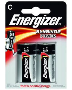 Baterie Alkaliczne ENERGIZER C LR14 Blister 2szt
