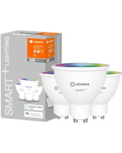 3PAK Żarówka LED GU10 5W 350lm CCT LEDVANCE SMART+ WiFi  RGB Ściemnialna