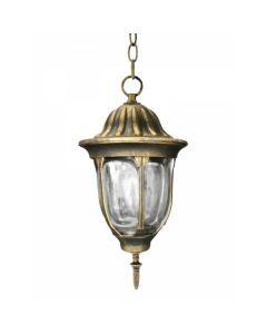 LAMPA OGRODOWA wisząca FLORENCJA 1xE27 IP43  POLUX PATYNA