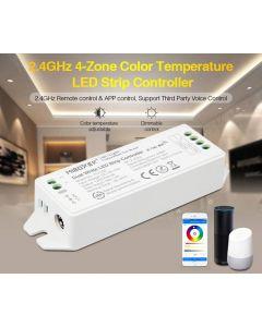 Kontroler Sterownik taśm LED CCT 12/24V 12A Mi-Light Wi-Fi - FUT035M