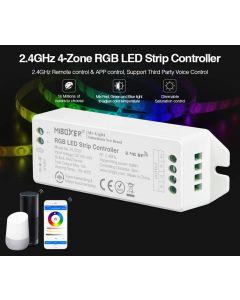 Kontroler Sterownik taśm LED RGB 12/24V 12A Mi-Light Wi-Fi - FUT037M