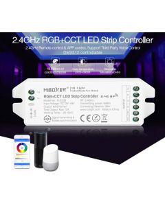 Kontroler Sterownik taśm LED RGB+CCT 12/24V 12A Mi-Light Wi-Fi - FUT039M