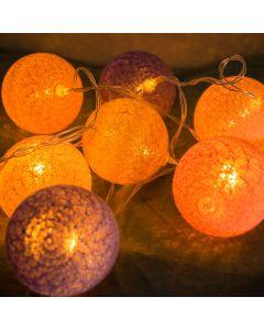 COTTON BALLS Kule świecące LED Girlanda świetlna 230V Lampki 30x LED MILAGRO EKD9326