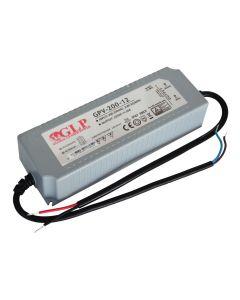 Zasilacz LED napięciowy 12V 192W 16A GPV-200-12 GLP hermetyczny