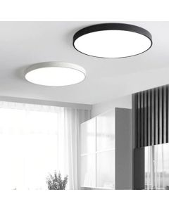 Plafon LED Lampa Sufitowa Natynkowa 36W 4000K CRI>85 HOUSTON Biała 40cm