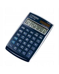 Kalkulator Citizen CPC-112 BLWB walutowy Niebieski