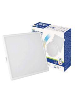 Panel LED Kwadratowy Podtynkowy wpuszczany 22W CCT ALGINE SPECTRUM Smart WiFi Ściemnialny