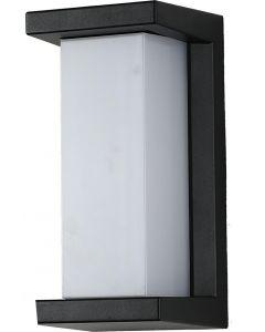 Lampa Ogrodowa Kinkiet Elewacyjny E27 HYDRA CZARNA IP54