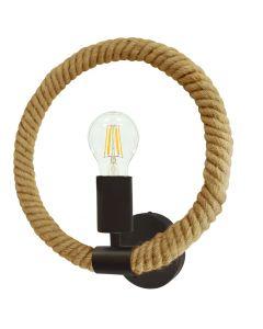 Kinkiet Lampa Ścienna ROPE LINE Loft Arthur E27 - Polux