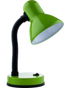 Lampka biurkowa szkolna do LED E27 GAMA KM4010-ZN zielona KM LUMILED