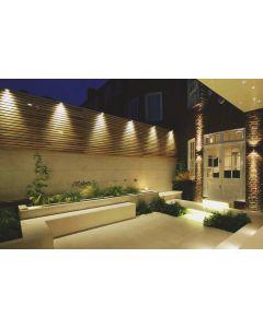 Lampa ogrodowa LED Kinkiet QUAZAR 16 GU10 IP44 KOBI ALUMINIUM CHROM