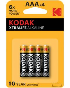 Baterie Alkaliczne KODAK AAA LR03 MN2400 Blister 4szt